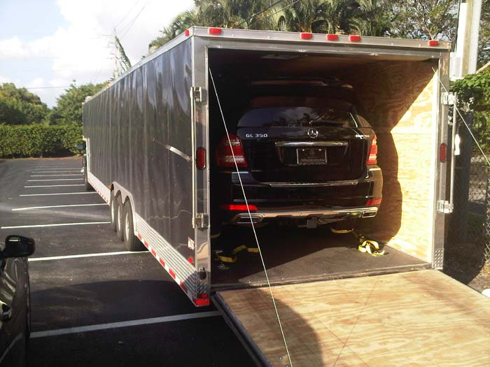 Moving Services for Vehicle